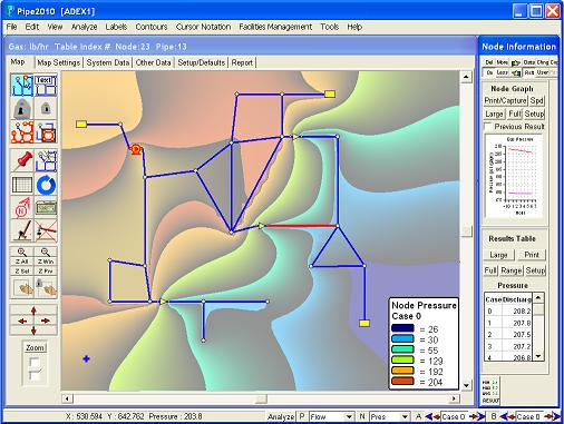 Gas Thermal Mapping
