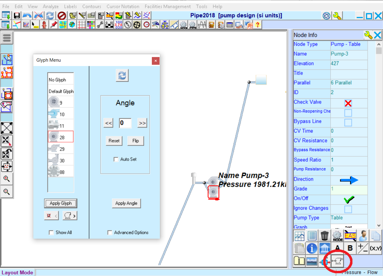 Piping And Instrumentation Diagrams Pids Kypipe Diagram Glyph Menu Change Type Orientation