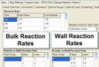 Bulk and Wall Reaction Rates